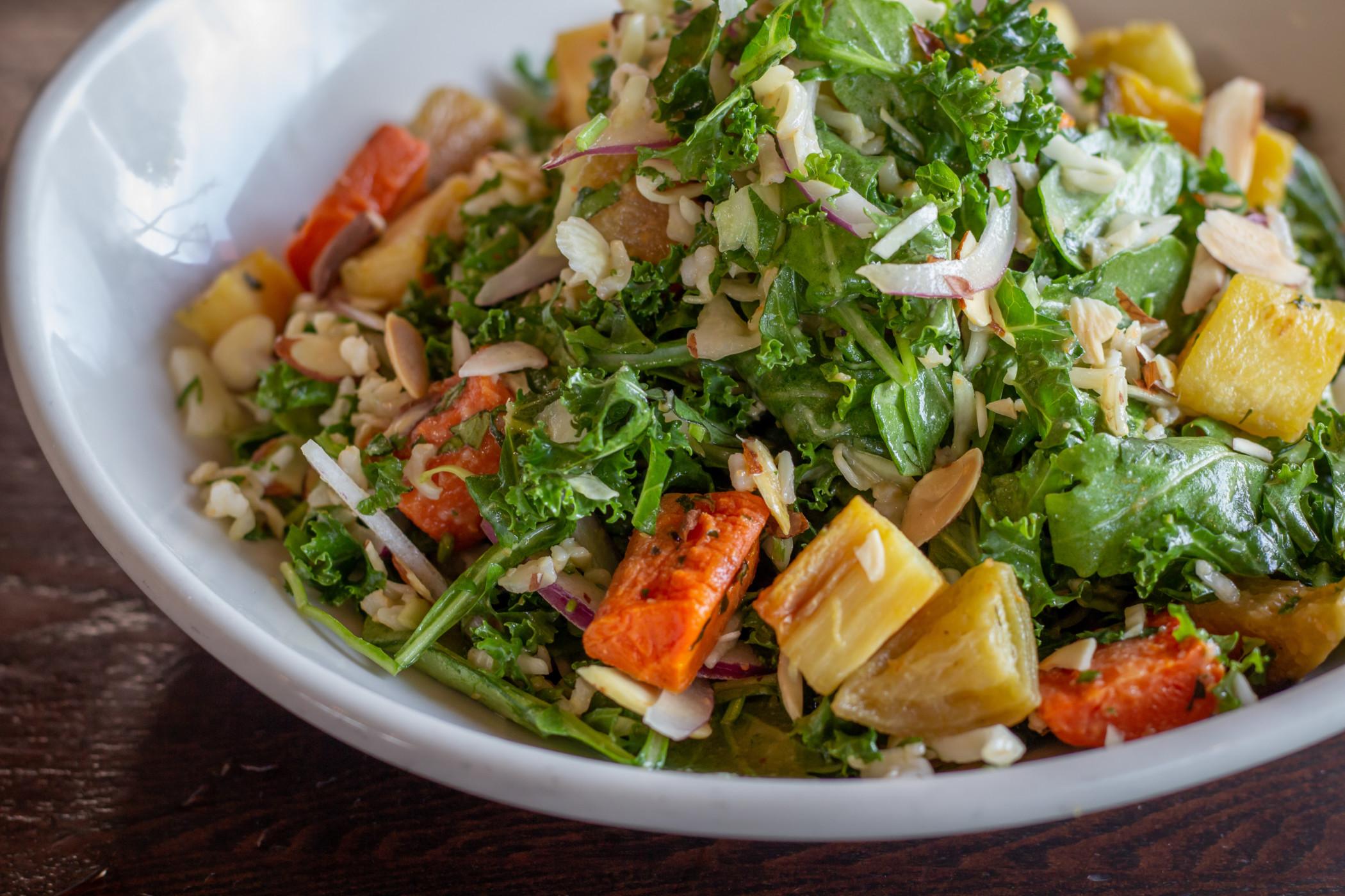 Miso Roasted Summer Salad