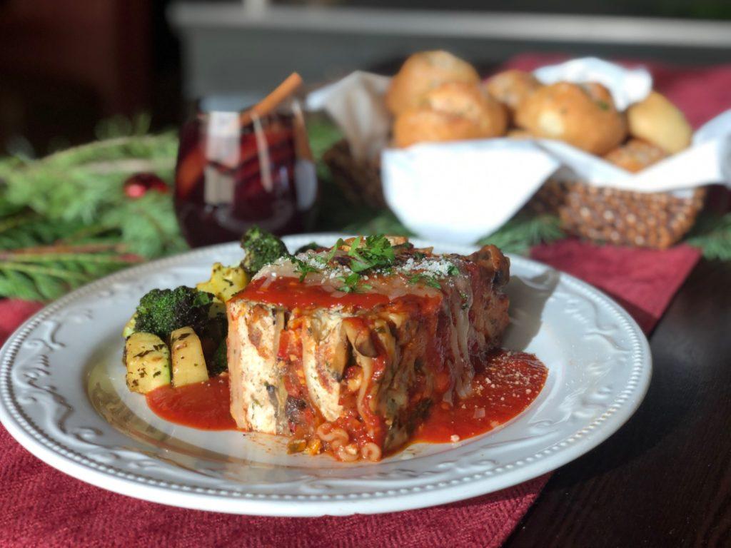 Veggie Lasagna Individual Meal
